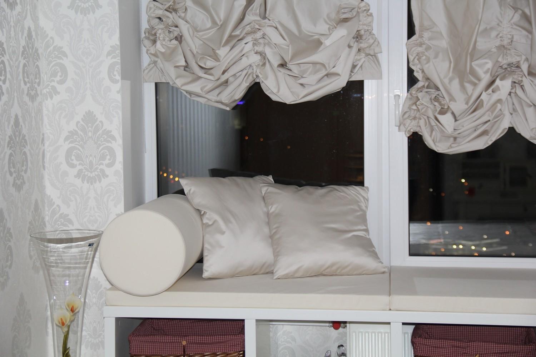 Австрийская штора и декоративный текстиль для Анастасии и Федора.