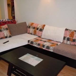 Чехлы на диван и подушки в этническом стиле. Для Веры.