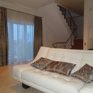г. Борисов. Современные шторы в гостиную для Жанны и Виктора.