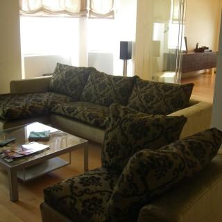 Чехлы на диван, декоративные.
