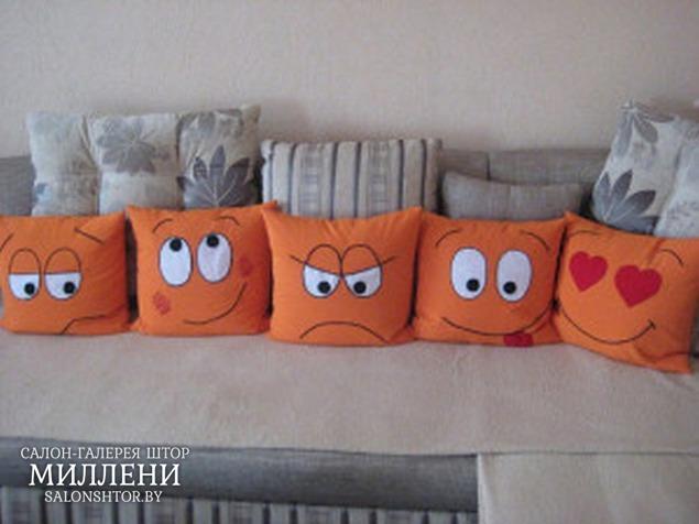 Интересные подушки-игрушки своими руками