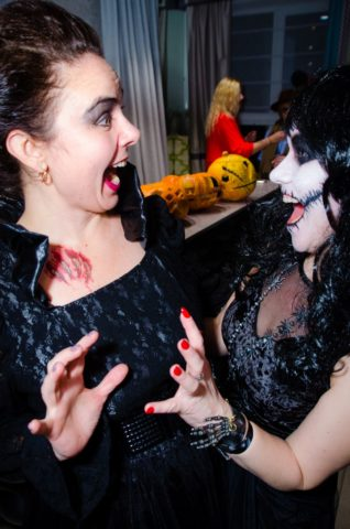 О хэллоуинском пунше. Фото.